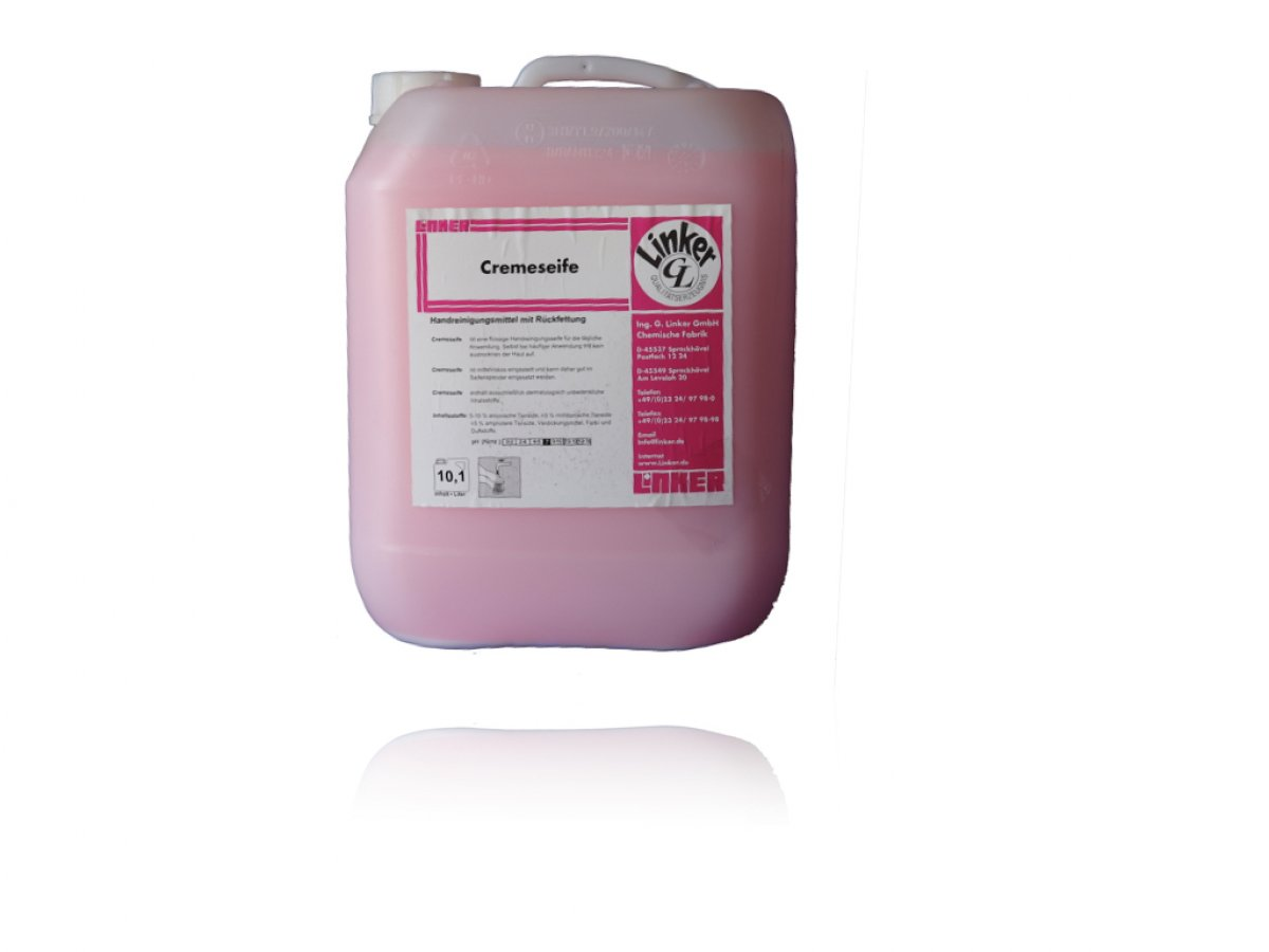 Cremeseife Duftnote : Rose, 10 ltr. /Kanister