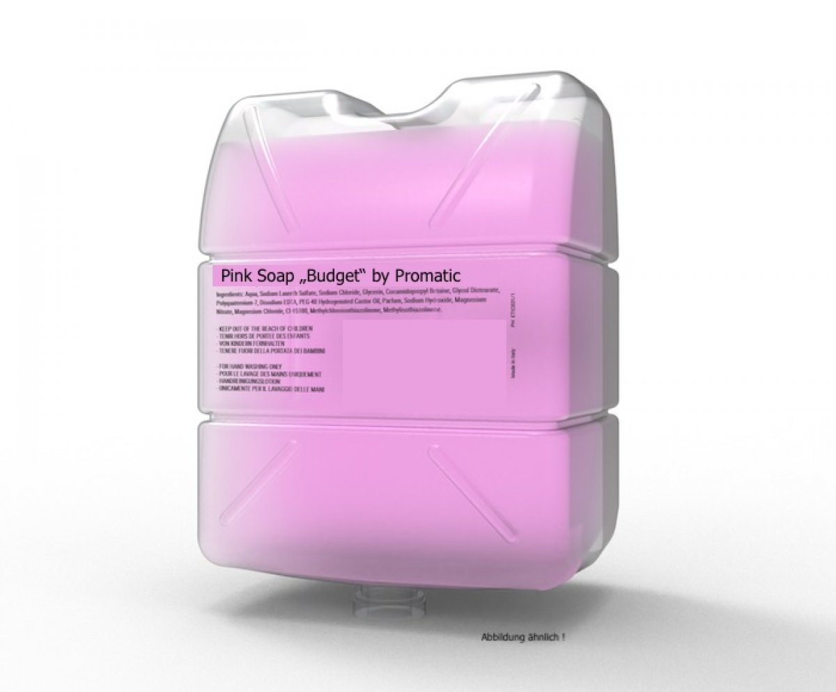 "Pink Soap - ""BUDGET"", 750 ml."